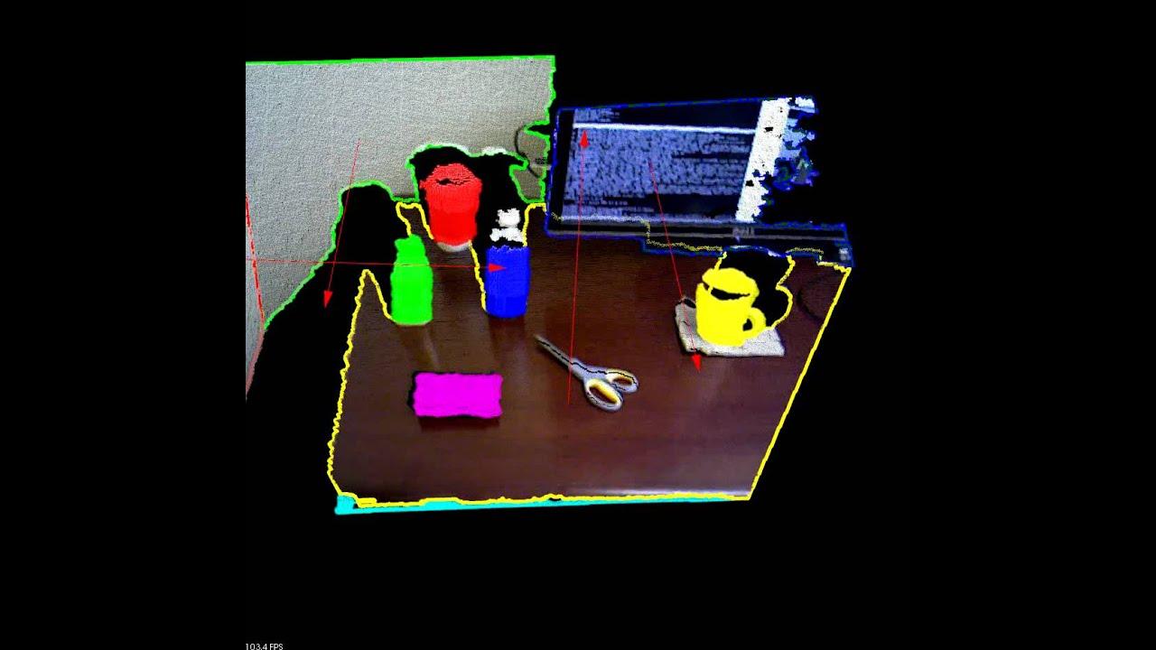PCL Organized Segmentation Demonstration – Advanced Imaging