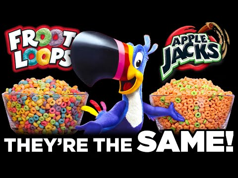 Food Theory: Froot Loops and Apple Jacks Are SECRETLY The Same! - The Food Theorists
