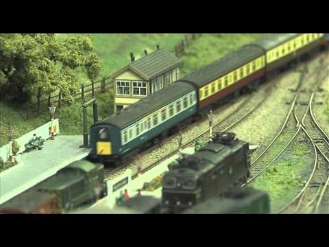 N Gauge model railway Littlewood
