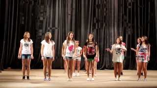 Surf's Up Dance (from Teen Beach Movie) Marching Stars