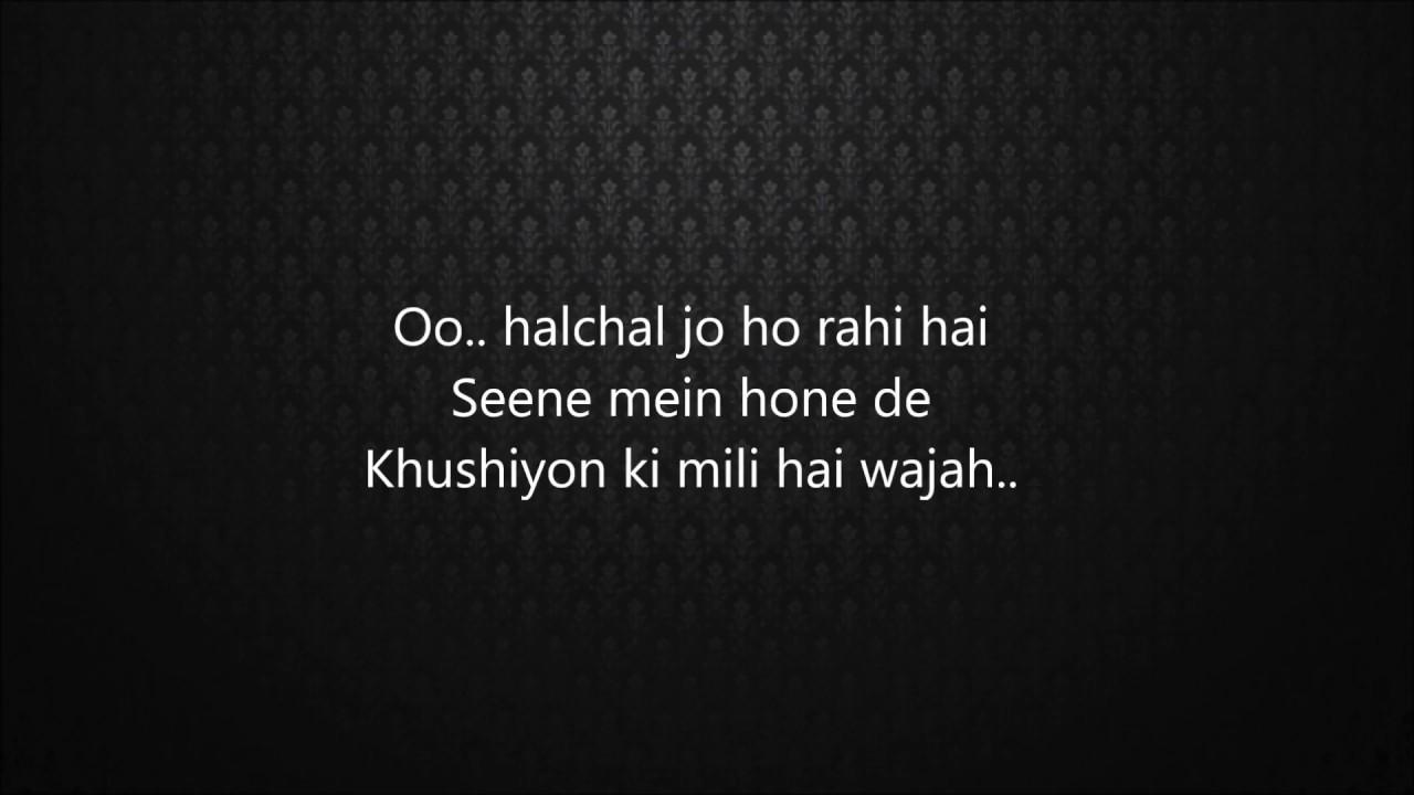 Buddhu Sa Mann (Lyrics)- Kapoor and Sons