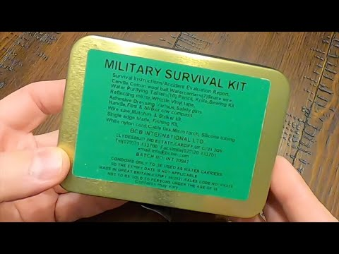 BCB International Military Survival Kit