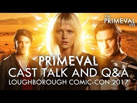 Primeval: Cast Talk and Q&A Interview - Andrew Lee Potts - Hannah Spearritt - Ben Mansfield