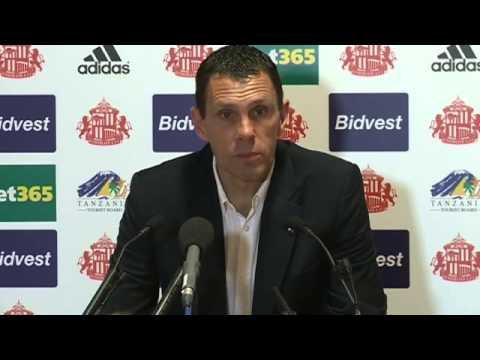 Gus Poyet reflects on season with Sunderland