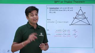 Class 10th - BPT and Thales Theorem