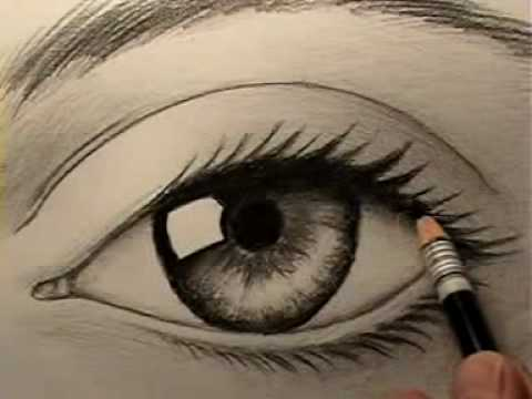 How to Draw a Realistic Eye   YouTube How to Draw a Realistic Eye