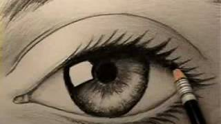 human eye 3d animation