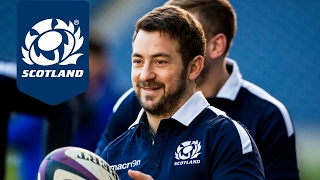 Stuart Hogg and Greig Laidlaw | Captain's Run