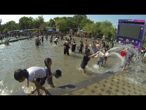 VARDEVAR Water Festival In Yerevan And Armenia