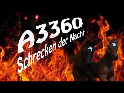 A3360 - Schrecken der Nacht (Modellpferdefilm)