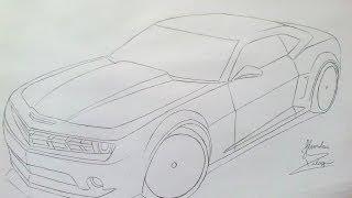 Camaro Amarelo - Jhordan Design