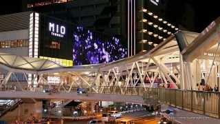 再開発で変わりゆく大阪・阿倍野の夜景 あべのハルカス Night View of Abeno under Redevelopment Osaka Japan