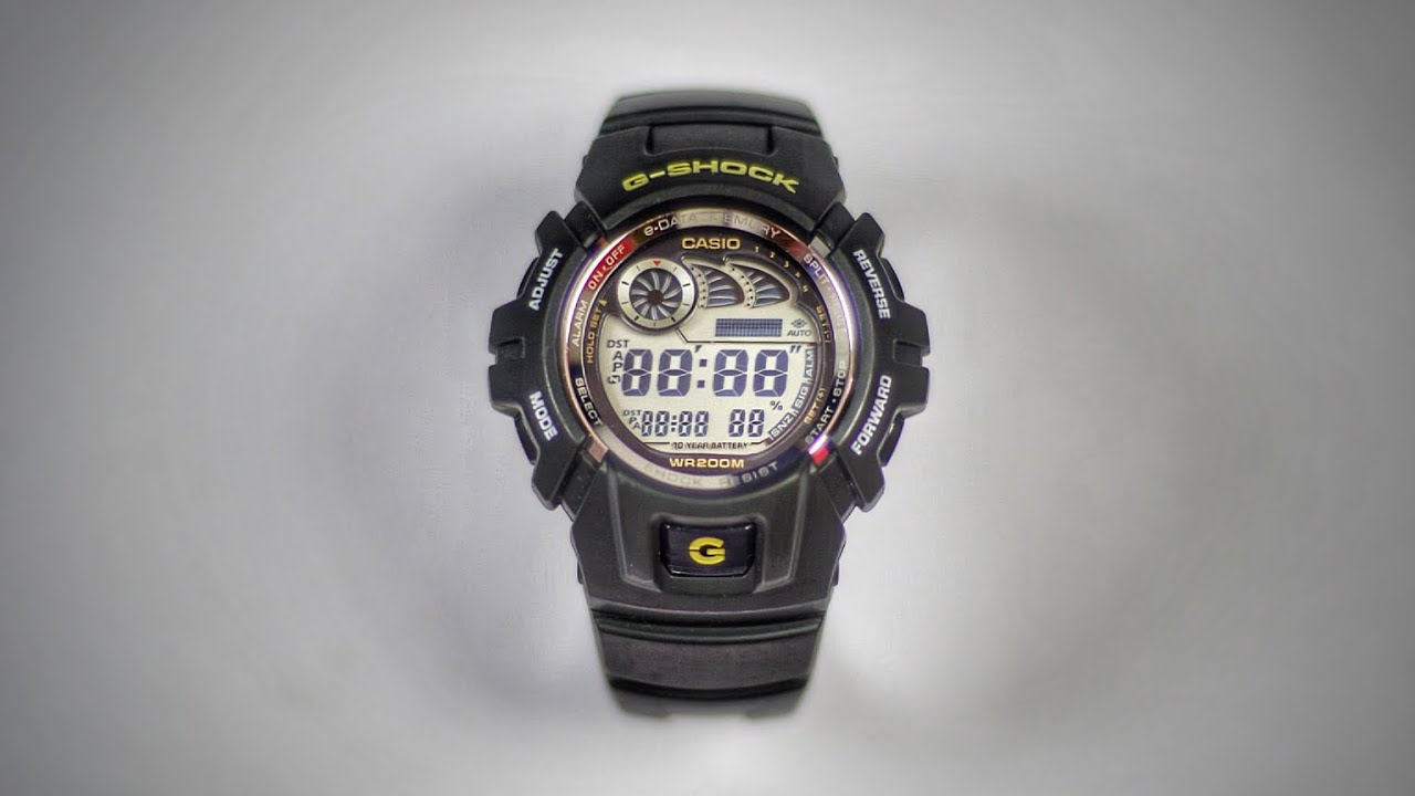Download 10 year battery life G-2900 Data Memory G-Shock watch review!