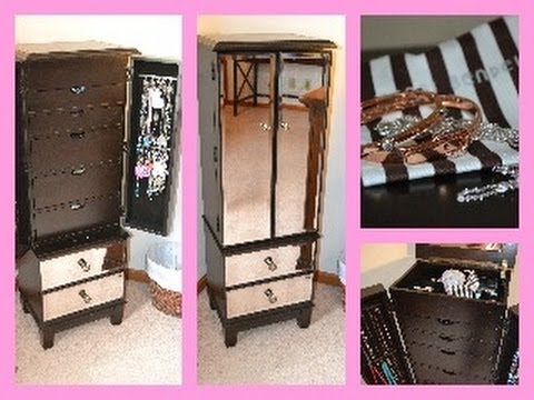 Hayworth Jewelry Armoire from Pier One ~ Review & Tour ...
