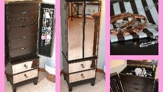 Hayworth Jewelry Armoire From Pier One ~ Review & Tour!