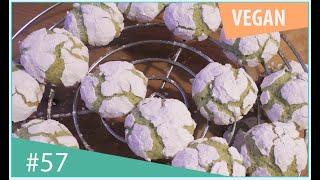 это печенье вы обязаны приготовить - мятное печенье с трещинками