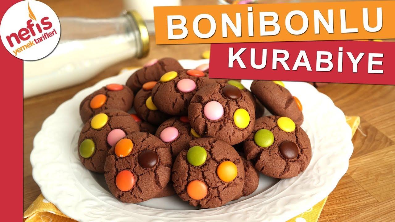 Bonibonlu Kakaolu Kurabiye Tarifi