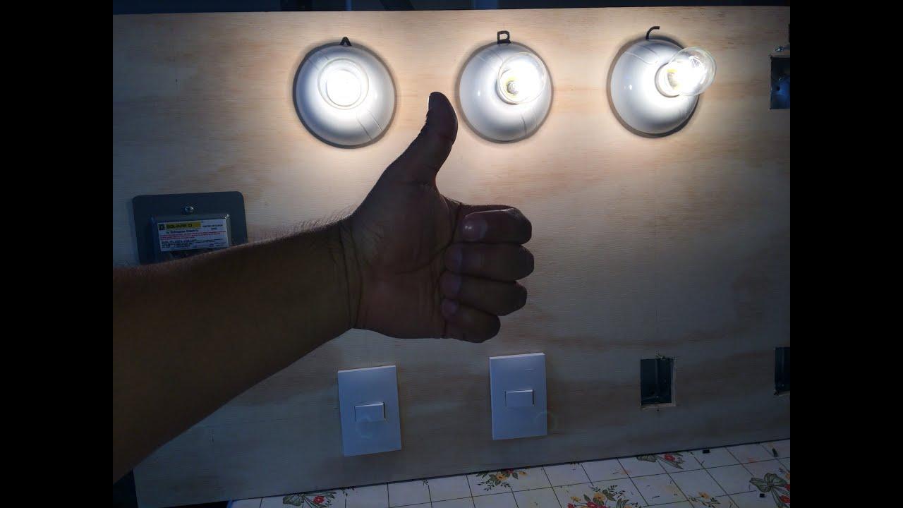 Como conectar 3 lamparas en paralelo con 2 apagadores de - Lamparas de escalera ...