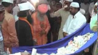 hazoor ghazi e millat & hazoor taj ul ullema mehfil e shama 2009 salaya india