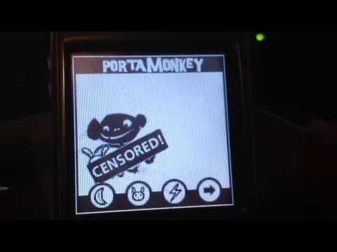 PortaMonkey on Palm OS