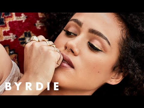 Nathalie Emmanuel's Stunning On-Set Makeup Transformations | Byrdie