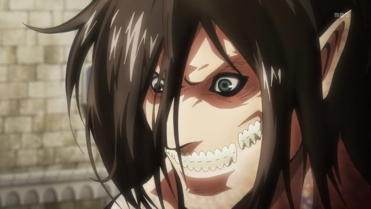 Shingeki no Kyojin 進撃の巨人 - Eren in Titan Form - YouTube