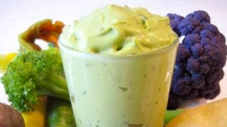 Snack Food Recipes For Kids: How To Make An Avocado Herb Dip For Children - Weelicious