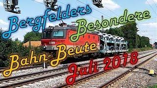 Bergfelders Besondere Bahn-Beute | Juli 2018