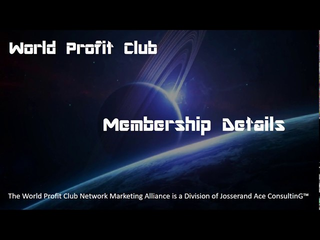 Why Become A Member of WPC?