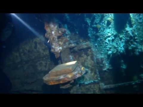 Red Sea Jun 2013. 2- Dive at Abu Nuhas wrecks.