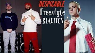 Eminem - Despicable (Freestyle) Reaction