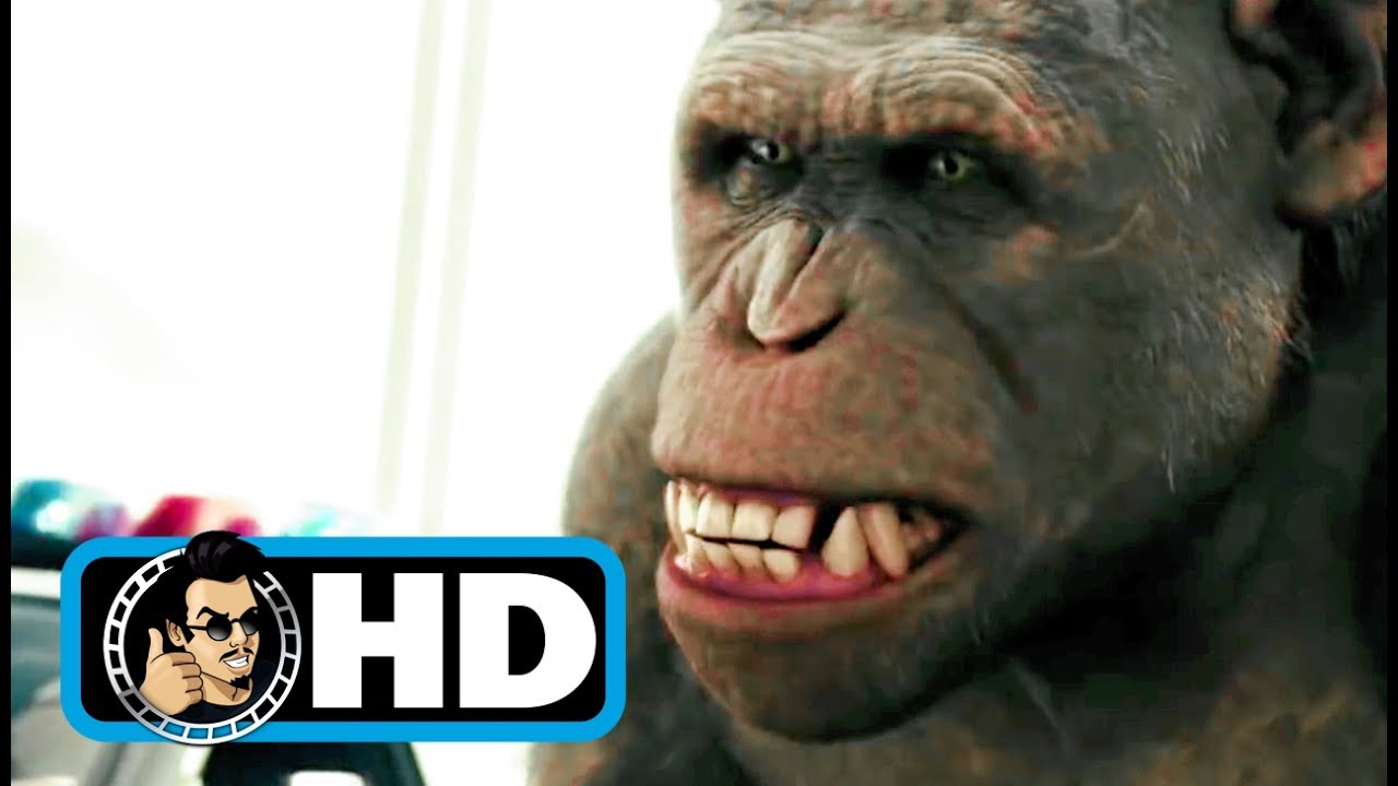 Rise Of The Planet Of The Apes 2011 Movie Clip Bridge Battle