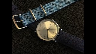 "Vario ""Eclipse"" - High Beat Minimalist Dress Watch"