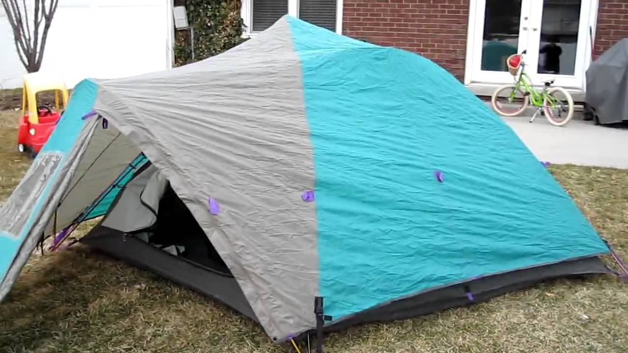 & Mountain Hardwear Skyview 3 Tent Part 2 - YouTube