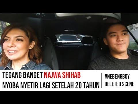 Najwa Shihab belajar nyetir sama Boy William   #NebengBoy S2 Deleted Scene