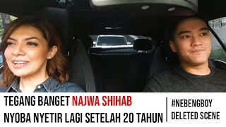 Najwa Shihab belajar nyetir sama Boy William | #NebengBoy S2 Deleted Scene