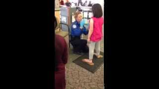 Tsa pat down 2 & 6 year old