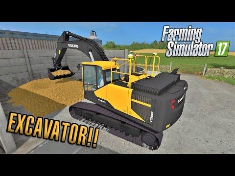 Farming Simulator 2017 | EXCAVATOR! | Sandy Bay | Episode 7