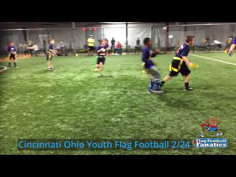 Cincinnati Ohio Youth Flag Football 2/24