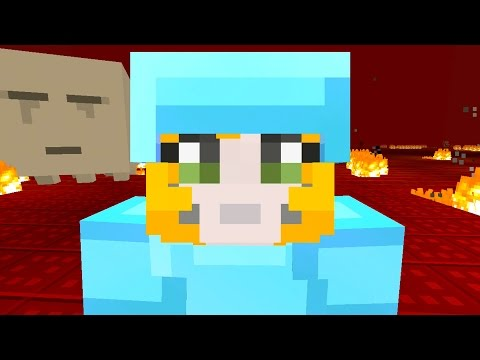 Minecraft Xbox - Stampy Flat Challenge - A Ghastly Day (16)
