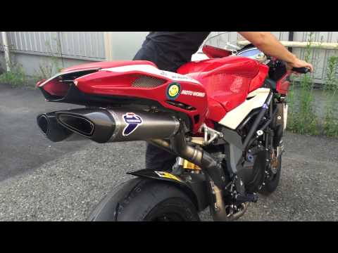MV AGUSTA F4RR with Termignoni Racing Exhaust System