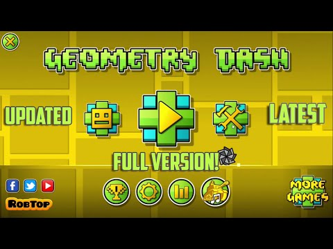 How To Get Geometry Dash Full Version For Free On PC!