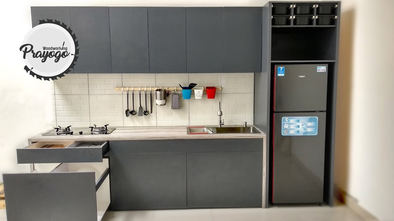 Membuat Kitchen Set Minimalis Modern Part I Built Kitchen