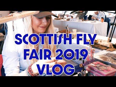 Angling Scotland - Scottish Fly Fair 2019 VLog
