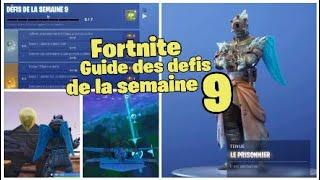 Fortnite Guide des defis de la semaine 9 de la saison 7