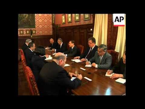 Medvedev meets Israeli FM Lieberman