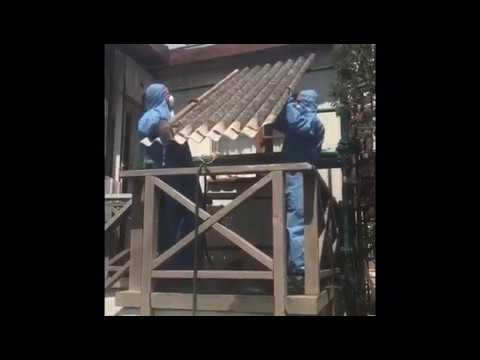 asbestos-roof-removal