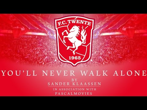 You'll never walk alone - FC Twente lyrics video by Sander Klaassen