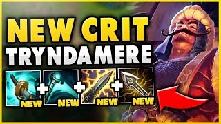 HOW OP ARE THE *NEW* ITEMS ON TRYNDAMERE!?! S9 TRYNDAMERE TOP GAMEPLAY- League of Legends
