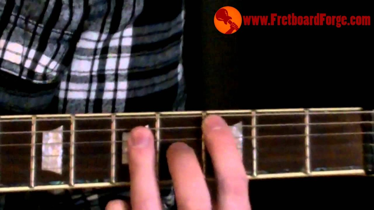 A Form Barre Chord